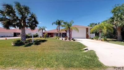 Palm Coast Single Family Home For Sale: 170 N Coral Reef Ct N