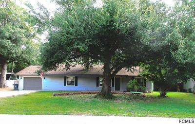 Bunnell Single Family Home For Sale: 606 N Orange St
