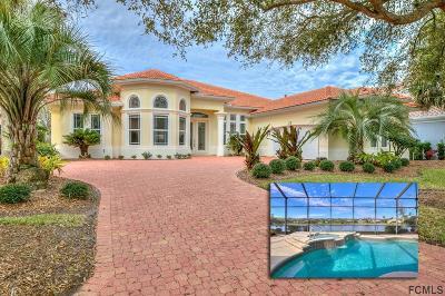 Palm Coast Single Family Home For Sale: 22 Oak View Circle E
