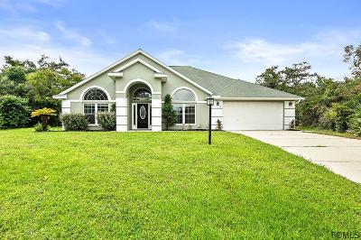 Palm Coast Single Family Home For Sale: 5 Farr Pl