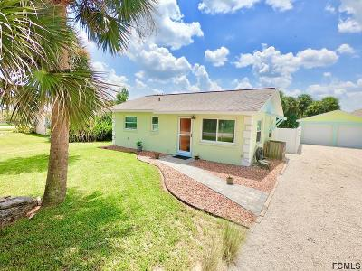 Flagler Beach Single Family Home For Sale: 2324 S Daytona Ave
