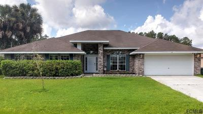 Palm Coast Single Family Home For Sale: 14 Renshaw Place