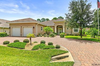 Palm Coast FL Single Family Home For Sale: $499,000