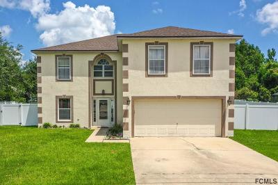 Palm Coast Single Family Home For Sale: 12 Biscay Lane