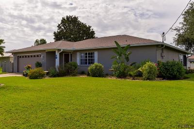 Palm Coast Single Family Home For Sale: 1 Florence Court