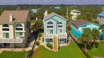 Flagler Beach FL Single Family Home For Sale: $875,000