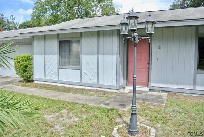 Palm Coast FL Single Family Home For Sale: $167,000