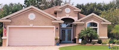 Palm Coast FL Single Family Home For Sale: $284,000