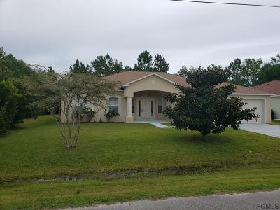 Palm Coast Single Family Home For Sale: 9 Buffalo Berry Place