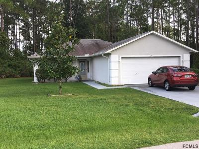 Palm Coast Single Family Home For Sale: 29 Red Clover Ln