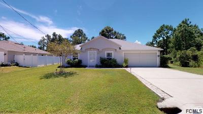 Palm Coast Single Family Home For Sale: 30 Prestwick Lane