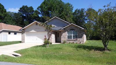 Palm Coast Single Family Home For Sale: 34 Praver Lane