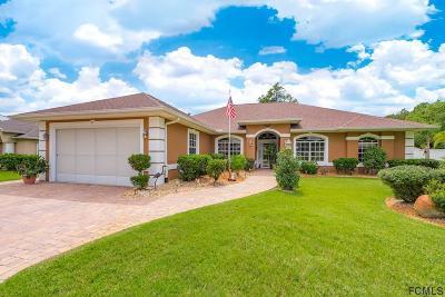 Palm Coast Single Family Home For Sale: 6 Wakeshire Pl
