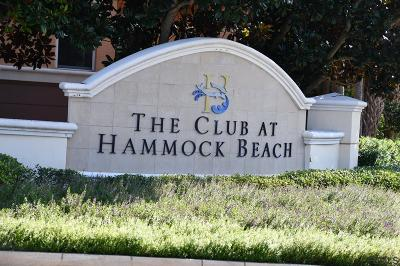 Hammock Beach Condo/Townhouse For Sale: 45 Ocean Crest Way #1022
