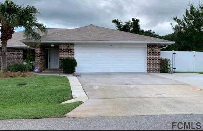 Palm Coast Single Family Home For Sale: 14 Floral Court