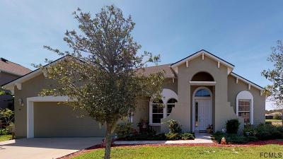Palm Coast Single Family Home For Sale: 10 Lakewalk Dr S