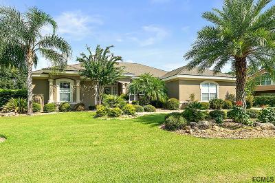 Plantation Bay Single Family Home For Sale: 1047 Stone Lake Dr