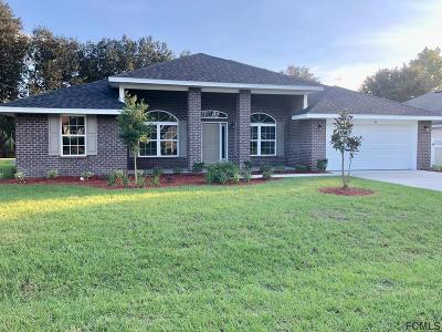 Palm Coast FL Single Family Home For Sale: $251,150