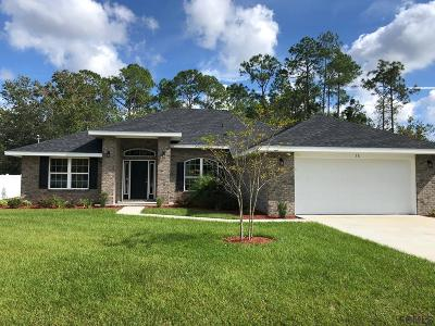 Palm Coast FL Single Family Home For Sale: $257,150