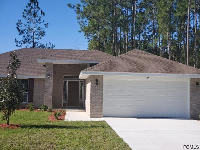 Palm Coast FL Single Family Home For Sale: $232,740