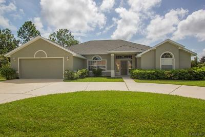 Palm Coast FL Single Family Home For Sale: $279,900