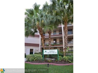 Broward County Condo/Townhouse For Sale: 100 NW 76th Ave #410