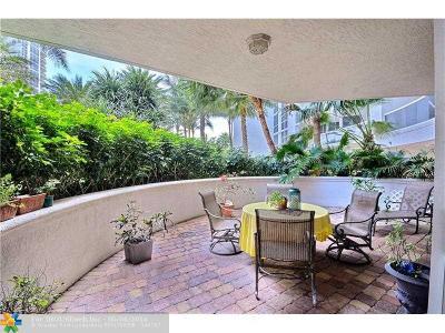 Fort Lauderdale Condo/Townhouse Sold: 3100 N Ocean Blvd #302