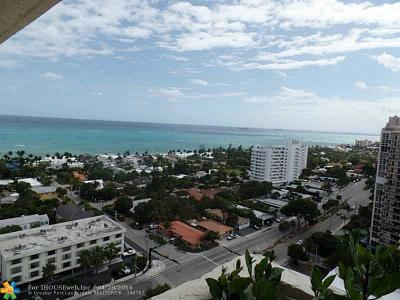 Condo/Townhouse Sold: 3015 N Ocean Blvd #PH-H