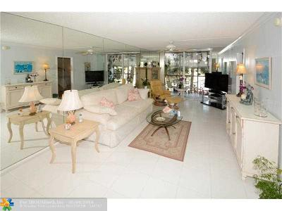 Fort Lauderdale Condo/Townhouse Sold: 5300 NE 24th Ter #302