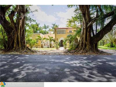 Coral Gables Single Family Home For Sale: 2512 Columbus Blvd