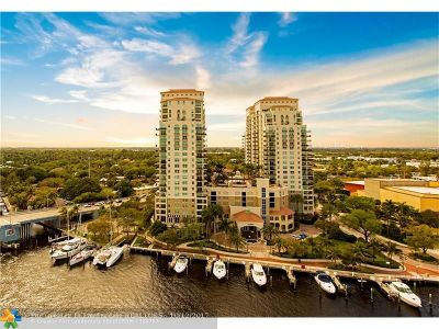 Fort Lauderdale Condo/Townhouse For Sale: 610 W Las Olas Blvd #813