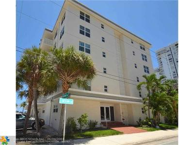 Hollywood Condo/Townhouse For Sale: 1901 S Ocean Dr #407