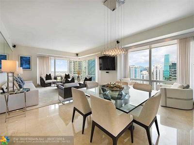 Miami Condo/Townhouse For Sale: 1425 Brickell Ave #42C