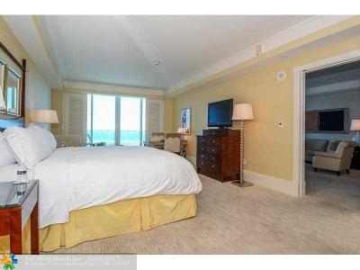 Fort Lauderdale Condo/Townhouse For Sale: 1 N Fort Lauderdale Beach Blvd #1606