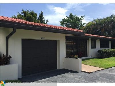 Lauderdale By The Sea Single Family Home For Sale: 3221 S Terra Mar Dr