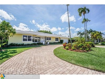 Fort Lauderdale Single Family Home For Sale: 3633 NE 24th Ave