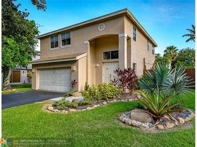Coconut Creek Single Family Home For Sale: 4812 NW 15th St