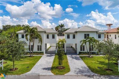 Coral Ridge Single Family Home For Sale: 2717 NE 20th Ct