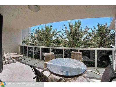 Fort Lauderdale Condo/Townhouse Sold: 3100 N Ocean Blvd #404