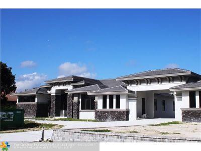 Plantation Single Family Home For Sale: 899 NW 120 Avenue