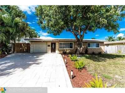 Pompano Beach Single Family Home For Sale: 1841 SE 6th St