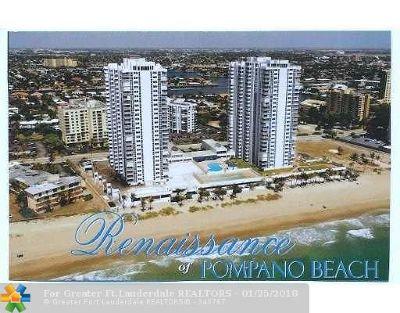 Pompano Beach Condo/Townhouse For Sale: 1370 S Ocean Blvd #2805