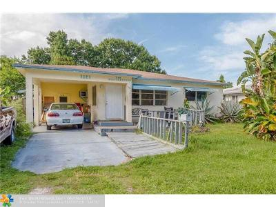 Fort Lauderdale FL Single Family Home Sold: $185,000
