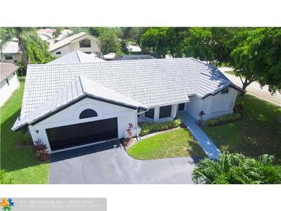 Coral Springs Single Family Home Sold: 6550 NW 56th St
