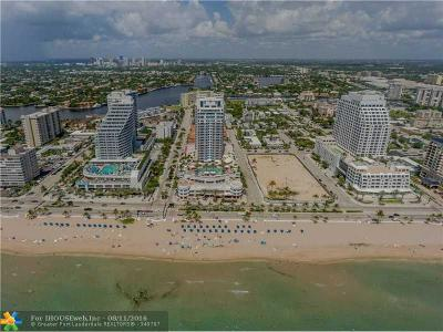 Fort Lauderdale Condo/Townhouse For Sale: 505 N Ft Lauderdale Bch Bl #1709
