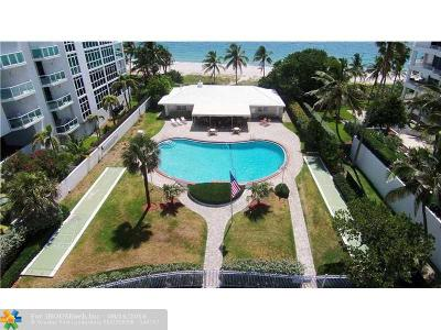 Lauderdale By The Sea Single Family Home For Sale: 1431 Unit 80 S Ocean Blvd