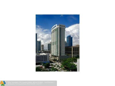 Fort Lauderdale Condo/Townhouse For Sale: 350 SE 2nd St #1850