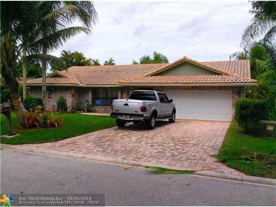 Coral Springs Single Family Home Sold: 5072 NW 66th Dr