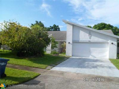 Lauderhill Single Family Home Backup Contract-Call LA: 7381 NW 37th St