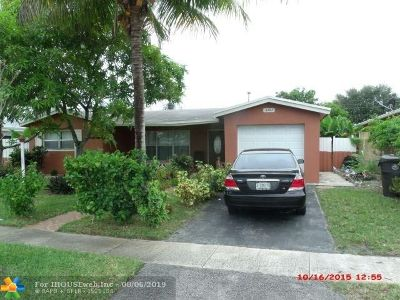 Lauderdale Lakes Single Family Home For Sale: 3363 NW 37th Ave